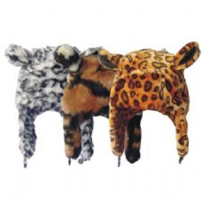 24 Units of Winter Animal Hat Leopard Print - Winter Animal Hats