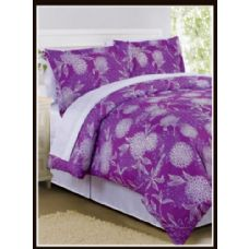 6 Units of Floral Bed In A Bag King Size - Bed Sheet Sets