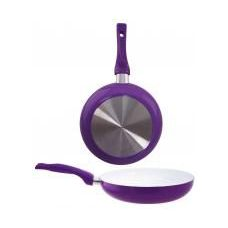 8 Units of 8 Inch Ceramic Fry Pan PURPLE - Frying Pans and Baking Pans