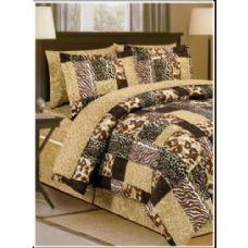 6 Units of Safari Bed In A Bag  California King Size - Bed Sheet Sets