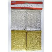 48 Units of 4 Pack 5 Inch Sponge - Cleaning