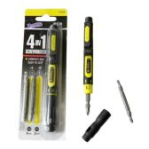 48 Units of 4 in 1 Screwdriver - Hardware Miscellaneous