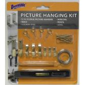 48 Units of Picture Hanging Kit - Hooks