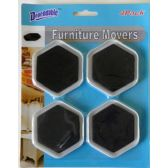 48 Units of 4 Pack Furniture Movers - Hardware Miscellaneous