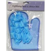 36 Units of Deluxe Exfoliating Bath & Shower Mitt - Loofahs & Scrubbers