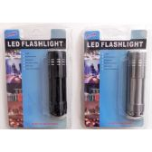 48 Units of LED Flashlight 9 LED Pocket Size - Flash Lights