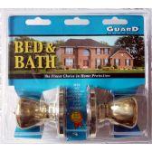 6 Units of Bed & Bath Doorknob Set - Hardware > Miscellaneous