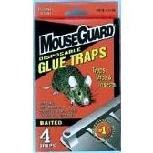 48 Units of Mouse Guard 4 Pack Mouse Glue Traps
