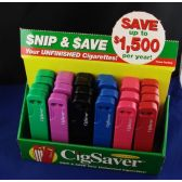 144 Units of Cig Saver Snip and Save Your Unfinished Cigarettes Closeout - Auto Accessories