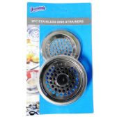 48 Units of Sink Strainer 2 Pack - Strainers & Funnels