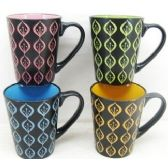 48 Units of 11 Ounce Stoneware Mug Modern Design - Coffee Mugs