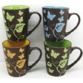 48 Units of 11 Ounce Stoneware Mug - Coffee Mugs