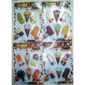 48 Units of 6 pack Ice Cream Magnet Assortment