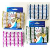 48 Units of Terry Net Scouring Sponges 2 pack - Cleaning