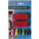 48 Units of Pencil Eraser Value Pack - Erasers