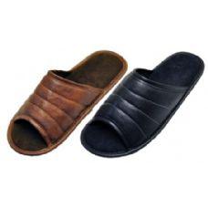 36 Units of Mens Open Toe Slipper - Mens Slippers