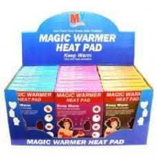 48 Units of Magic Warmer Heat Pad - Arm & Leg Warmers