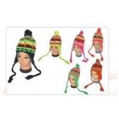 72 Units of Women's Neon Helmet Hat - Winter Helmet Hats
