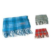 60 Units of Assorted Color Plaid Print Scarf