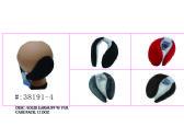 120 Units of Soft Solid Earmuff W/ Faux Fur - Ear Warmers