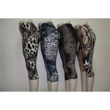 72 Units of Ladies Animal Print Legging - Womens Leggings