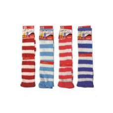 120 Units of ladies Stripe Leg Warmer - Arm / Leg Warmers