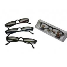 144 Units of Plastic Reading Glass With Rhine Stones - Reading Glasses