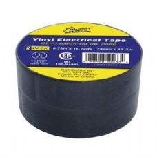 48 Units of Tape Electrical Black 20yds 2PK