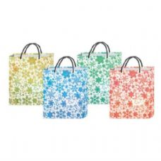 "180 Units of  ""XMAS Bag w/ Snow Flakes M 8.25""""x7x3.35"""" "" - Gift Bags Christmas"