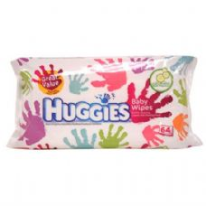 12 Units of Huggies Baby Wipe 64CT Gentle Clean Cucumber - Baby Beauty& Care Items
