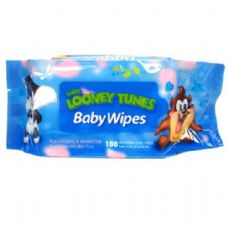 48 Units of Baby Wipes 100CT Baby Looney Tunes Blue - Baby Beauty & Care Items