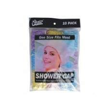 72 Units of Shower Cap 10PK - Shower Caps