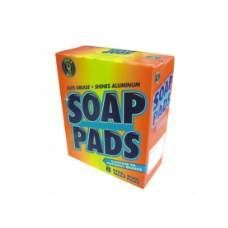 24 Units of Dura Blue Soap Pads 8PCS - Cleaning