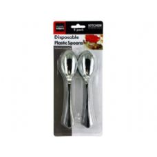 72 Units of Disposable plastic spoons - Kitchen > Cutlery