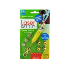 60 Units of Laser Light Key Chain Toy for Cats - Pet Toys
