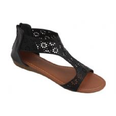 18 Units of Ladies' Fashion Sandals Black
