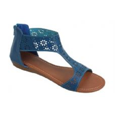 18 Units of Ladies' Fashion Sandals Navy