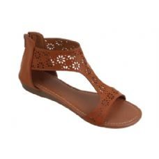 18 Units of Ladies' Fashion Sandals Brown