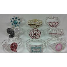 60 Units of Grade A Stones Fashion Bangle - Pallet / Value Deals