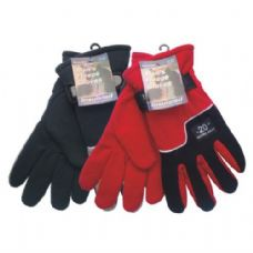 36 Units of Winter Fleece Glove Men HD - Fleece Gloves