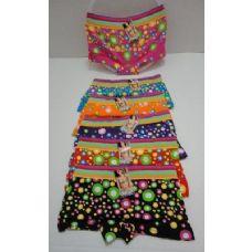 144 Units of Ladies Panties-Neon Circles - Womens Panties & Underwear