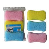 36 Units of 3 Pack Body Bath Sponge Set - Best Selling items