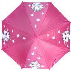 48 Units of Kid Size Cat Umbrella Pink - Umbrellas & Rain Gear