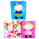 144 Units of Large Party Gift Bags Childrens Designs