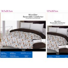 6 Units of Floral Theme Comforter Set Twin Size - Comforters