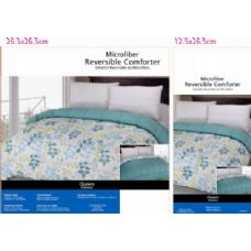6 Units of Floral Theme Comforter Set King Size - Comforters