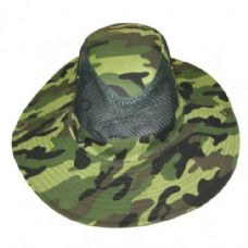 72 Units of Mesh Camo Boonnie - Cowboy & Boonie Hat