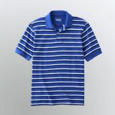 72 Units of Mens Stripe Polo Shirt - Mens Polo Shirts