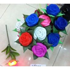 120 Units of Light Up Rose - Artificial Flowers