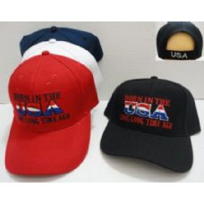 24 Units of Born in the USA [Long Long Time Ago] Hat - Baseball Caps & Snap Backs